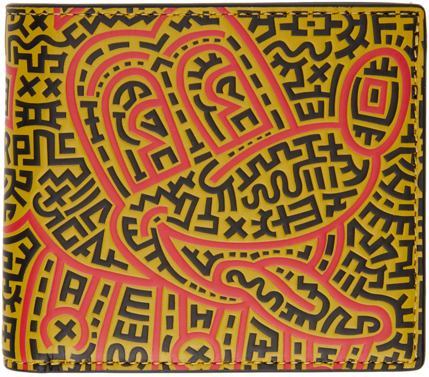Coach 1941 多色 Keith Haring 联名 Mickey 钱包