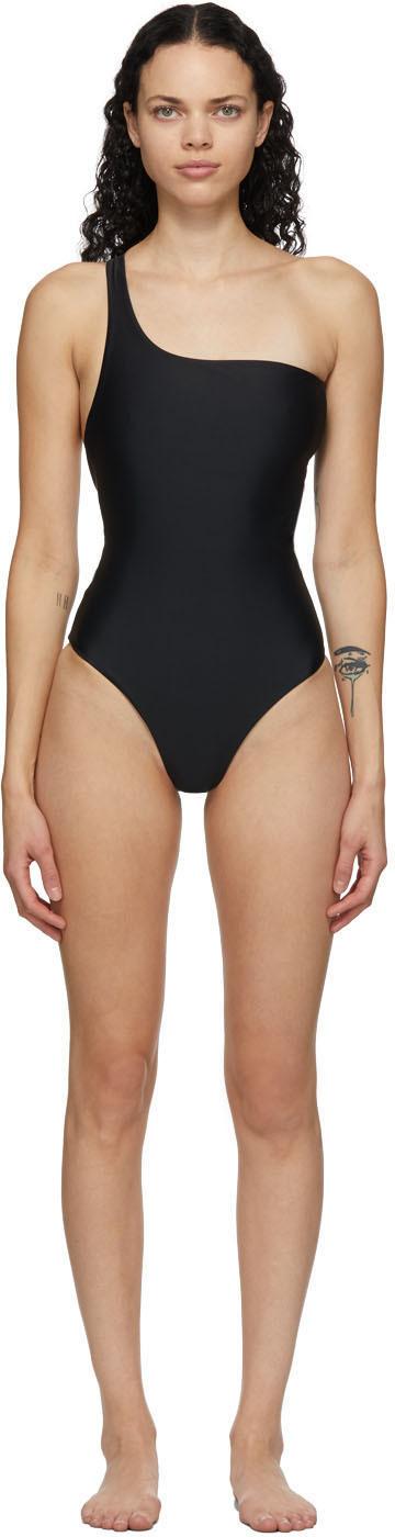 Jade Swim 黑色 Evolve 连体泳衣