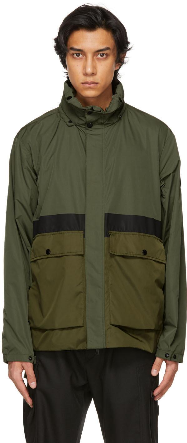 Moncler 绿色 Carax 夹克