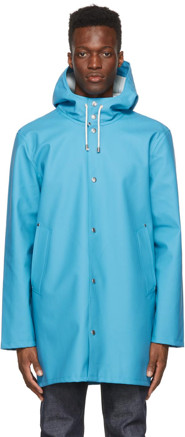 Stutterheim 蓝色 Stockholm 雨衣