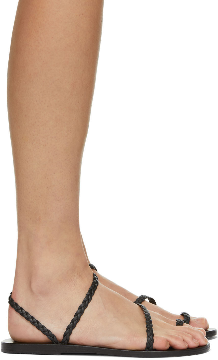 Ancient Greek Sandals 黑色 Eleftheria 凉鞋