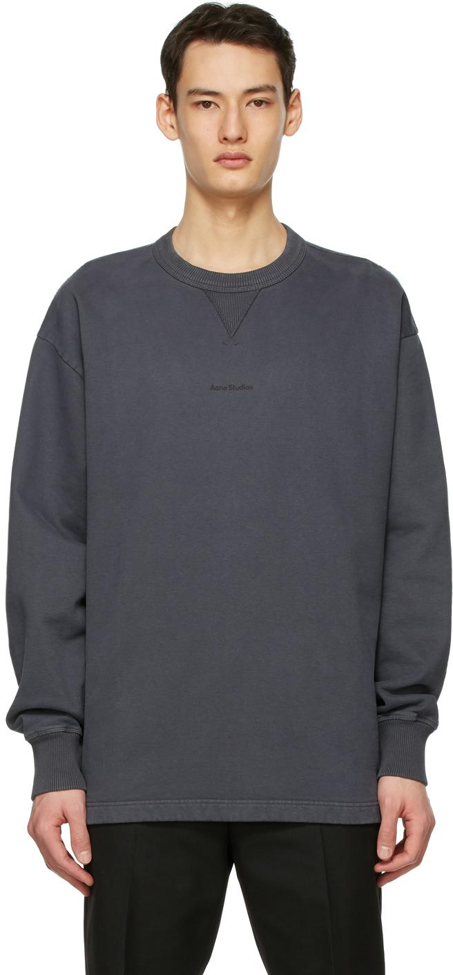 Acne Studios 灰色徽标套头衫