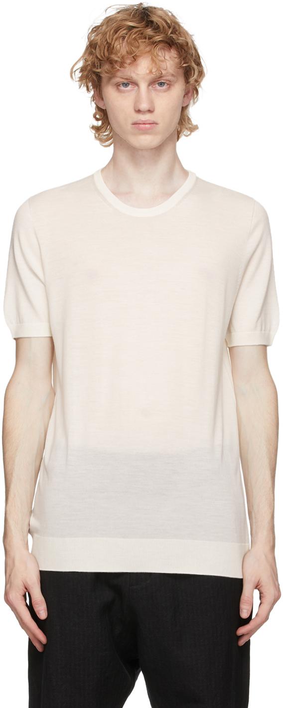 3MAN 灰白色羊毛 T 恤