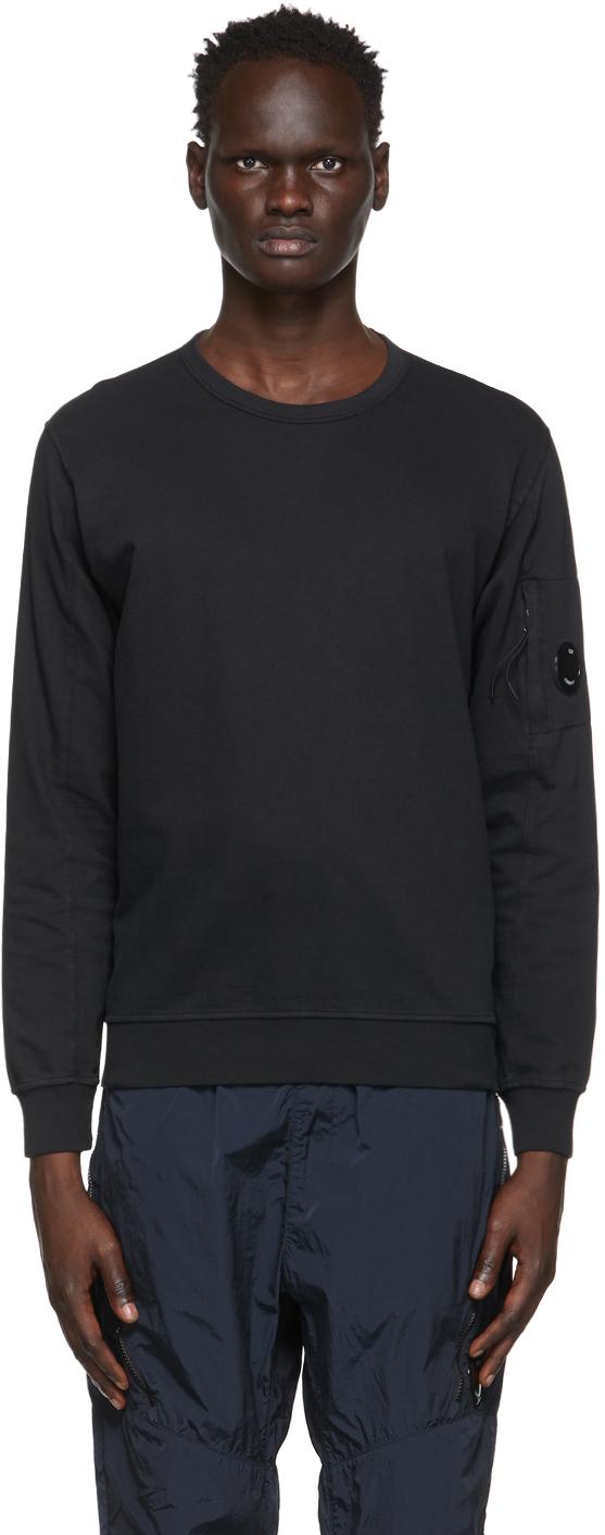 C.P. Company 黑色成衣染色套头衫