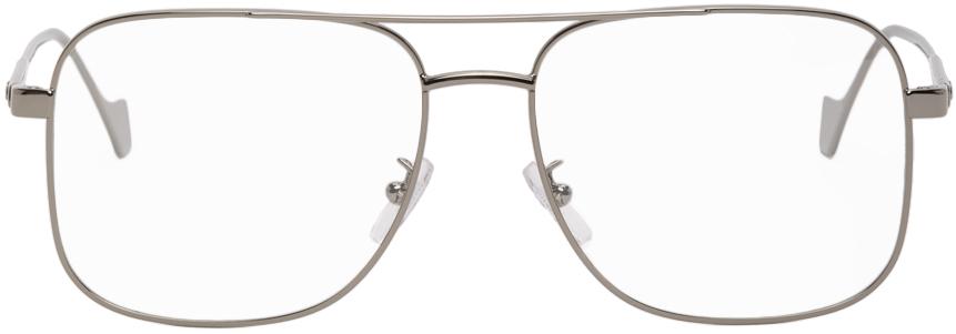 Loewe 枪色徽标眼镜