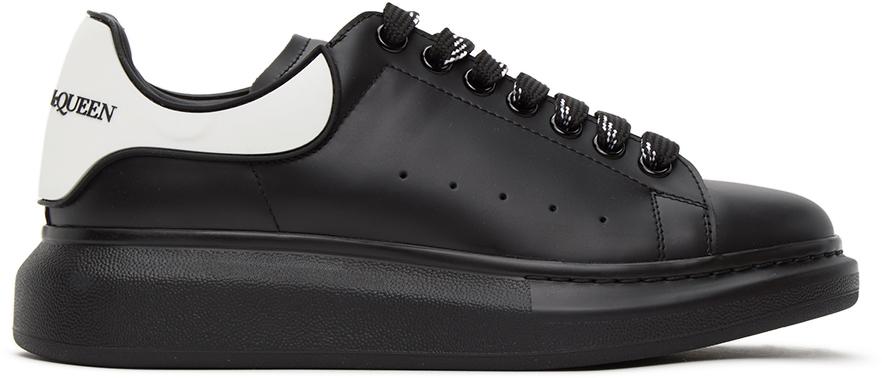 Alexander McQueen 黑色 & 白色阔型运动鞋
