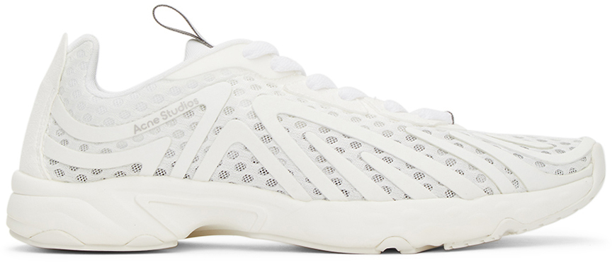 Acne Studios 灰白色 Trail 运动鞋