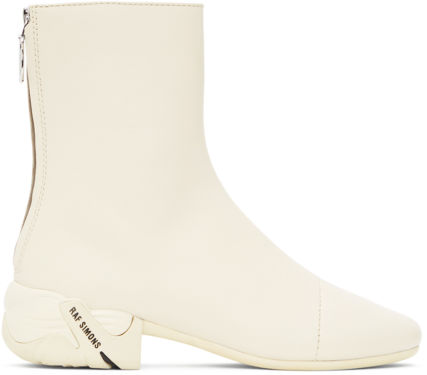 Raf Simons 灰白色 Solaris 踝靴