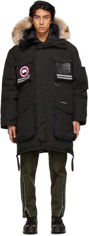 Canada Goose 黑色 Snow Mantra 派克大衣
