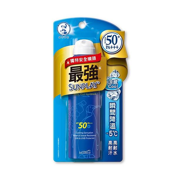 曼秀雷敦 SUNPLAY防曬噴霧-酷涼清爽型 165ml【BG Shop】