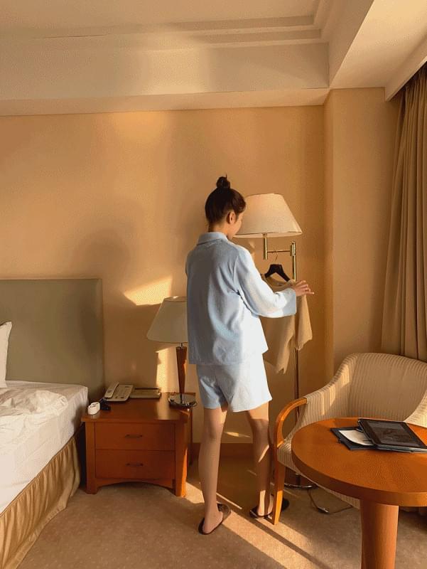韓國空運 - Coy Short Pajamas 套裝