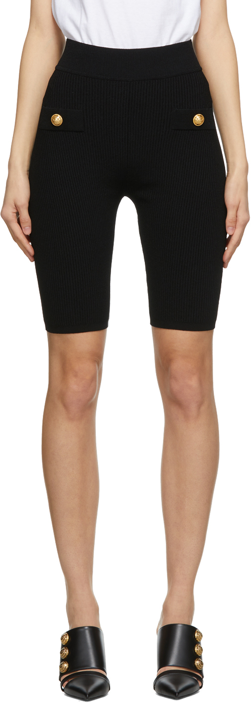 Balmain 黑色 Cycling 短裤