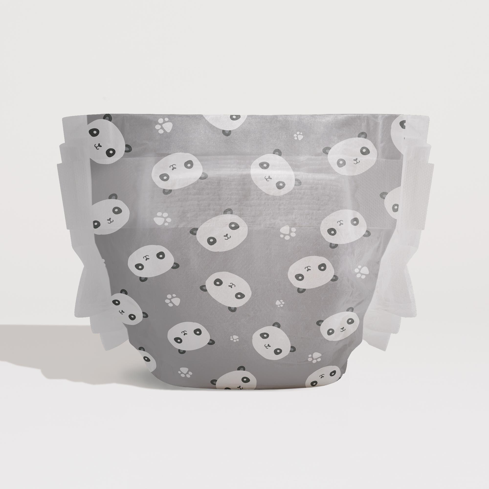 任3件48折↘【母嬰大賞】Honest誠實 寶寶紙尿布(熊貓)