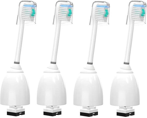 【日本代購】VINFANY 4個 替換刷頭for Philips Sonicare牙刷頭用 E系列用6個裝 清潔護理、極限e系列