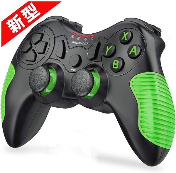 【日本代購】BEBONCOOLSwitch 控制器Procon HD振動無線 相容的Nintendo Switch Pro控制器小型綠色