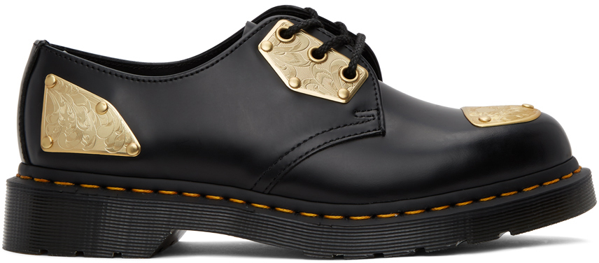 Dr. Martens 黑色 King Nerd 联名 1461 牛津鞋