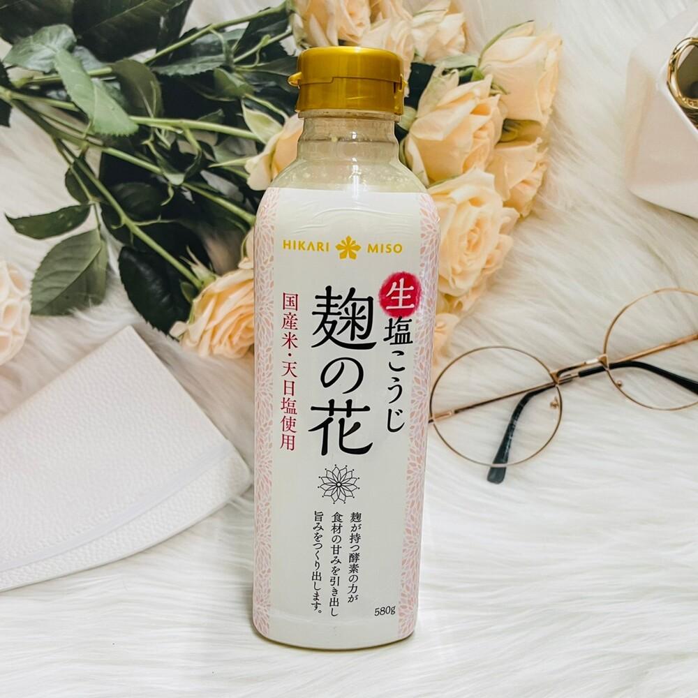 潼漾小舖 日本 hikari miso 麴之花 鹽花 鹽麴 580g 媽媽料理的好幫手