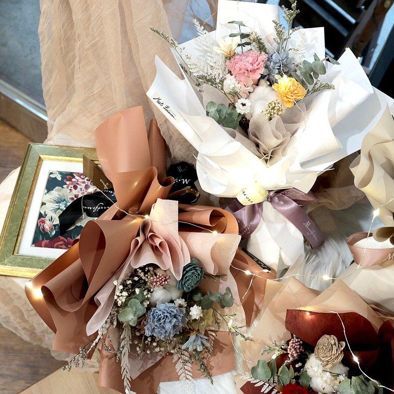 【遇見恆久】溫柔如春風母親節康乃馨花束 共五款
