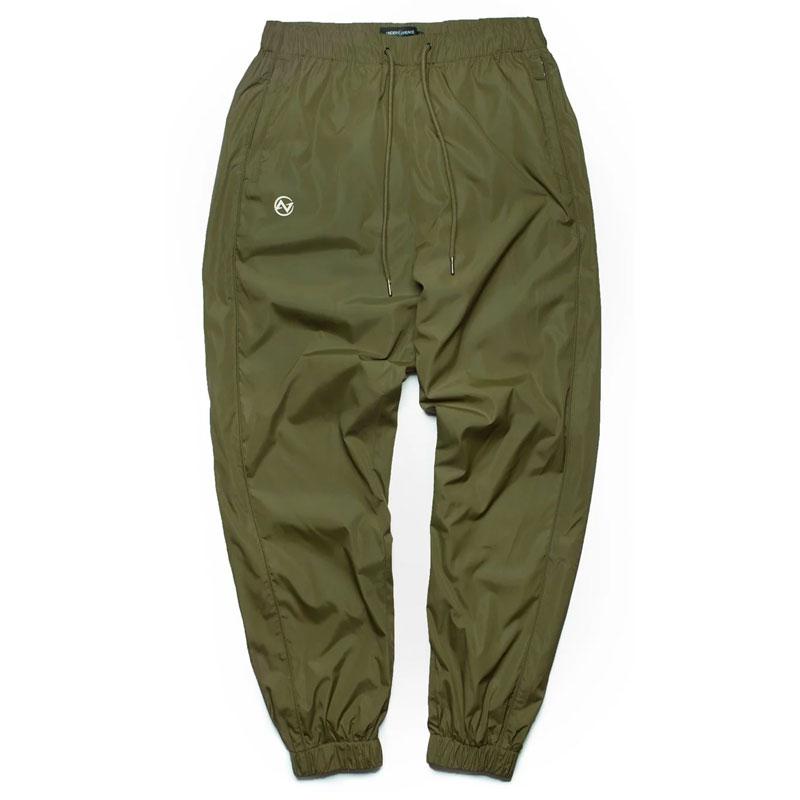 UNDER PEACE - 19AW SYSTEMIC / NYLON TRACK PANTS 防潑水長褲 (橄欖綠)