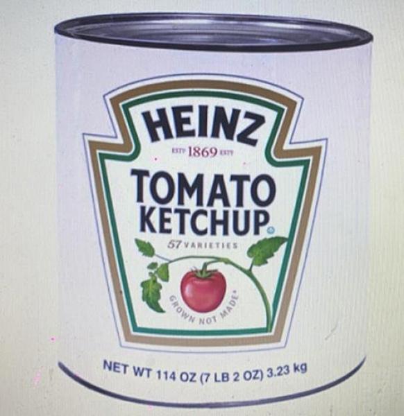 COSCO代購] W51290 Heinz 蕃茄醬 3.23公斤