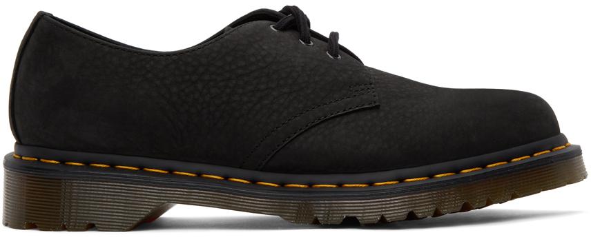 Dr. Martens 黑色 1461 牛巴革牛津鞋