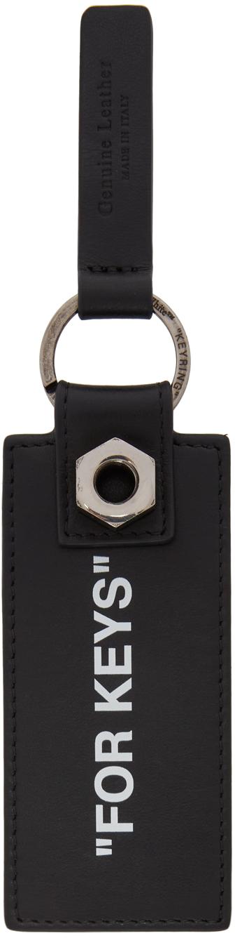 Off-White 黑色 For Keys 钥匙扣