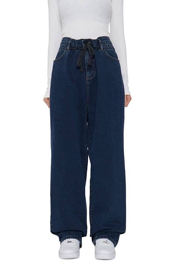 韓國空運 - Two big wide jeans 牛仔褲