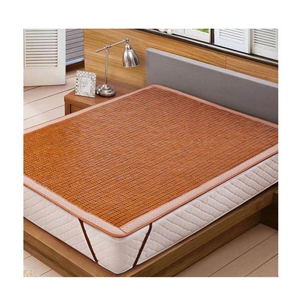 [COSCO代購] W123435 睡綿綿雙人純炭化竹涼蓆 150 x 186 公分