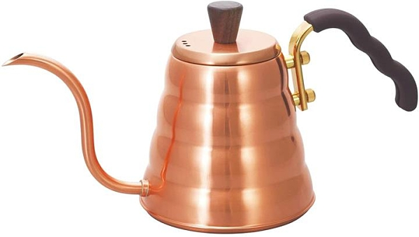 【日本代購】HARIO V60 銅 手衝壺 銅製滴濾式咖啡壺 Buono 700ml VKBN-90CP