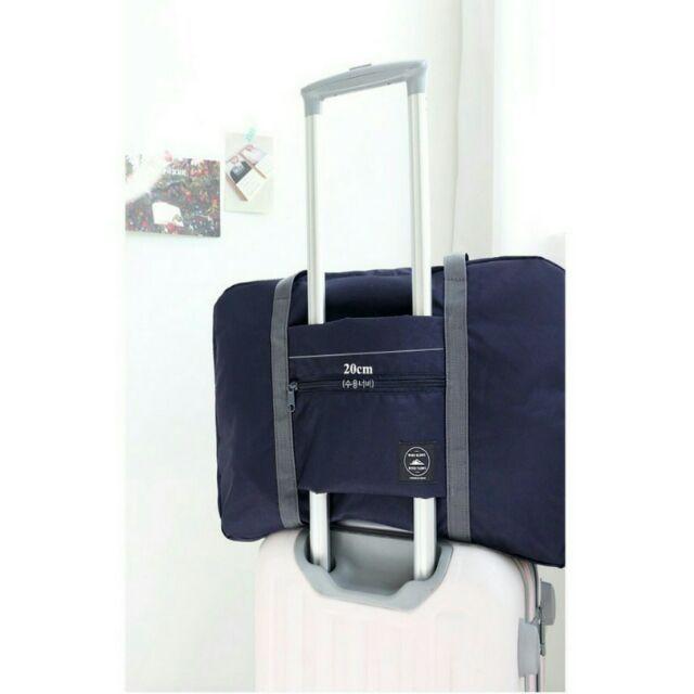 超大容量折疊式多用途飛機包 登機行李拉桿 手提收納袋 收納包 購物包 小飛機可折疊大容量旅行袋包 旅行箱行李箱外掛防水包