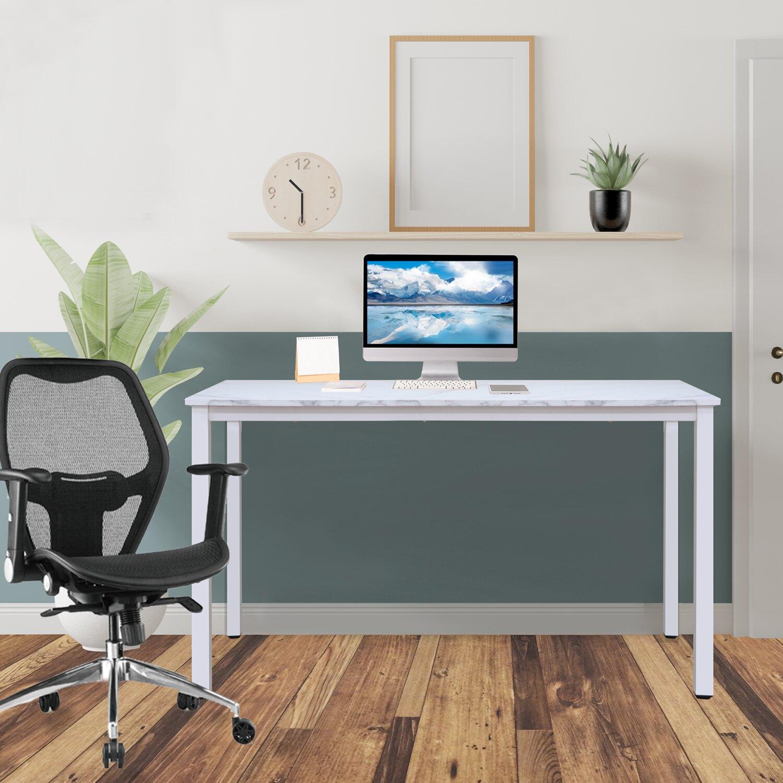 全球生活家-寬120cm簡約環保材質無甲醛多功能桌/電腦桌/餐桌/工作桌/書桌台灣製造TGL-1260(MB)