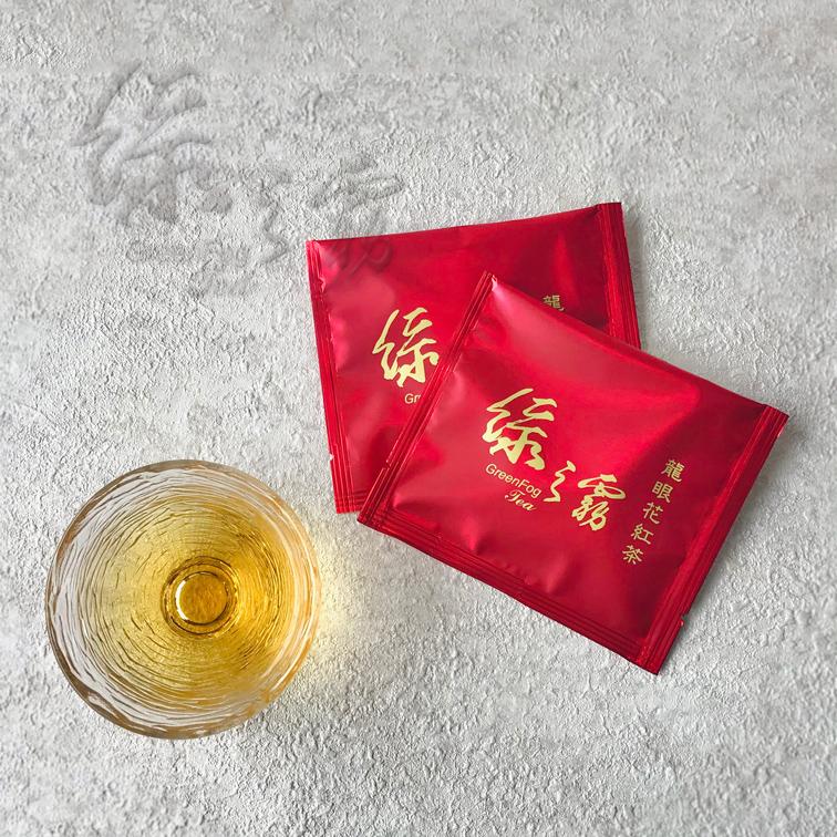 〔綠之霧〕龍眼花紅茶-茶包 (10包入/盒) #蜜香 #龍眼花