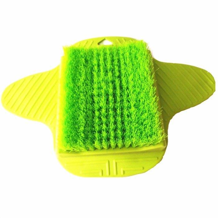 地貼式洗腳刷洗腳穿鞋洗腳刷子洗腳懶人拖鞋磨腳器搓腳板