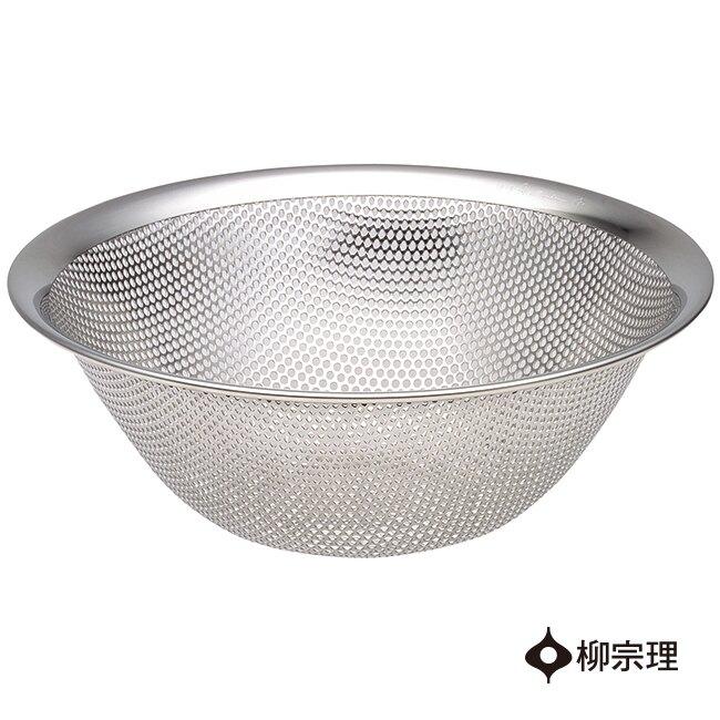柳宗理不銹鋼漏盆19cm【比漾廣場】