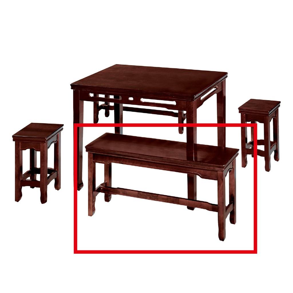 【120cm長古椅-C821-5】餐椅 北歐工業風 書桌椅 長凳 實木椅 皮椅布椅 餐廳吧檯椅 會議椅【金滿屋】
