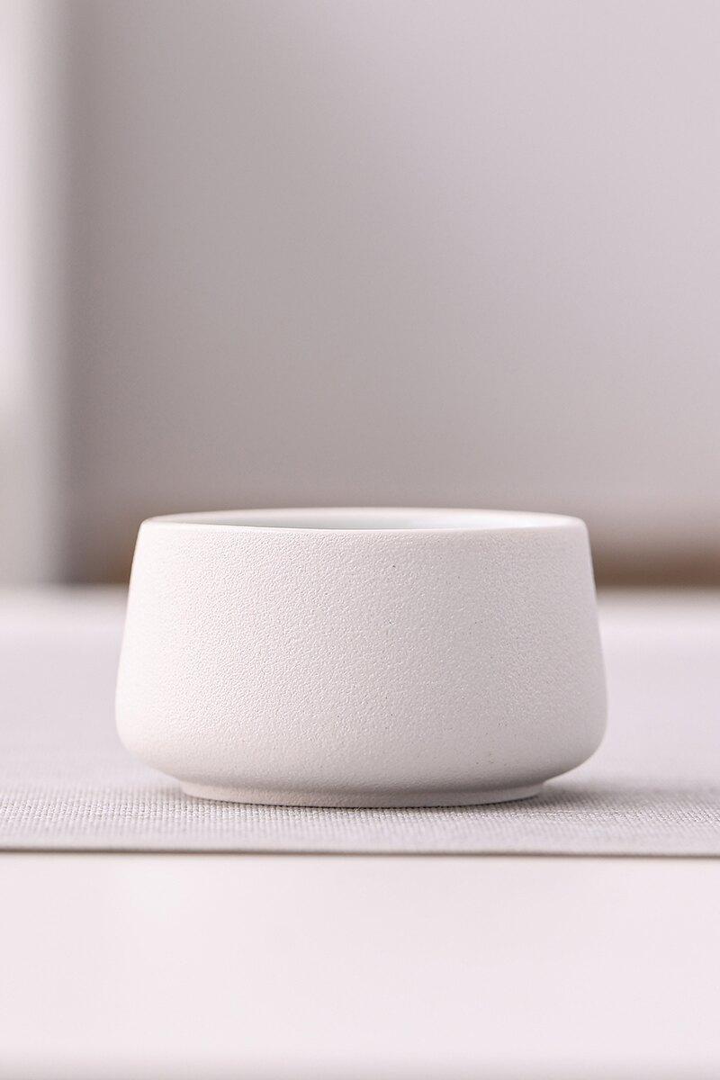 輕奢禪風黑茶杯功夫茶具品茗杯陶瓷小號主人杯單杯家用泡茶喝單個