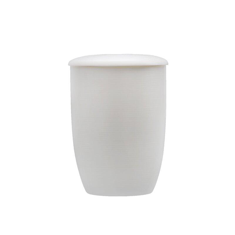 大師羊脂玉白瓷功夫茶杯主人杯陶瓷水杯辦公杯個人杯馬克杯