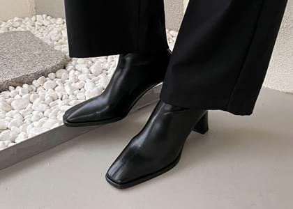 韓國空運 - Martin Spandex Ankle Boots 靴子