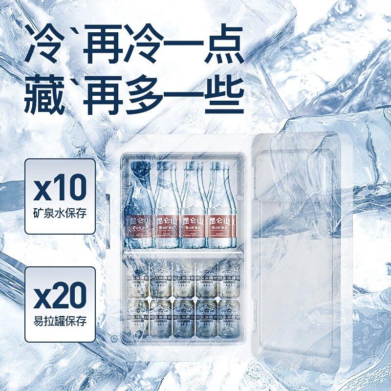 車載冰箱 冷凍22升壓縮機迷你小冰箱宿舍用小型mini車載冰箱出租房車家兩用ZHJG168