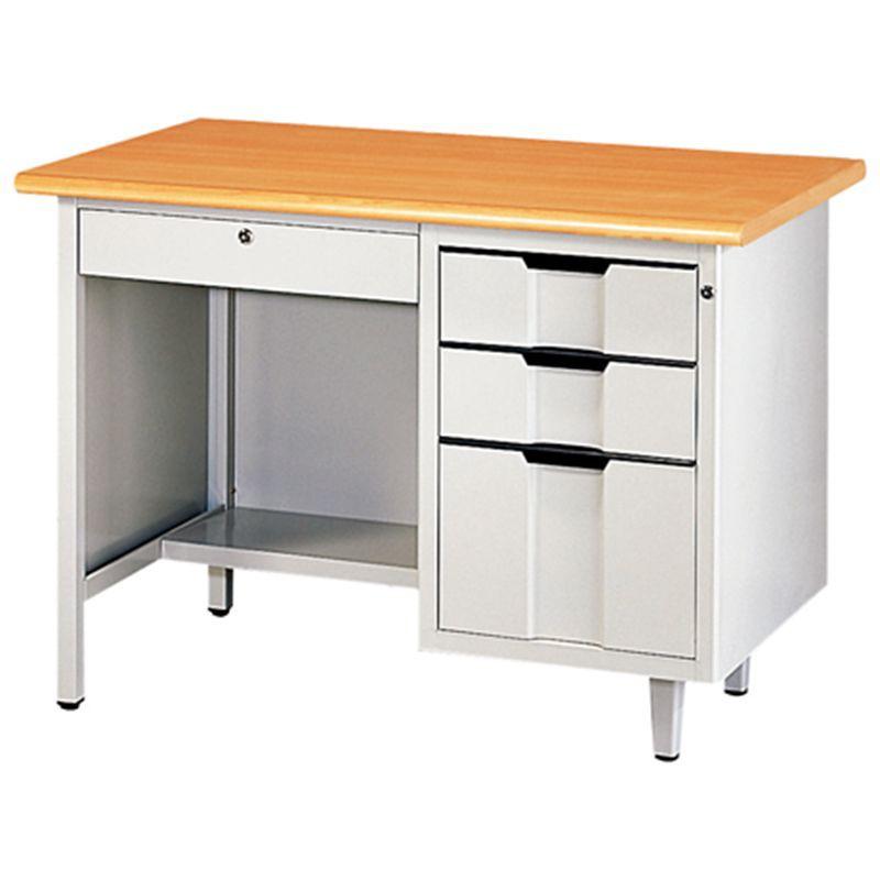 【U14-06A】H型檯面桌(木紋面)