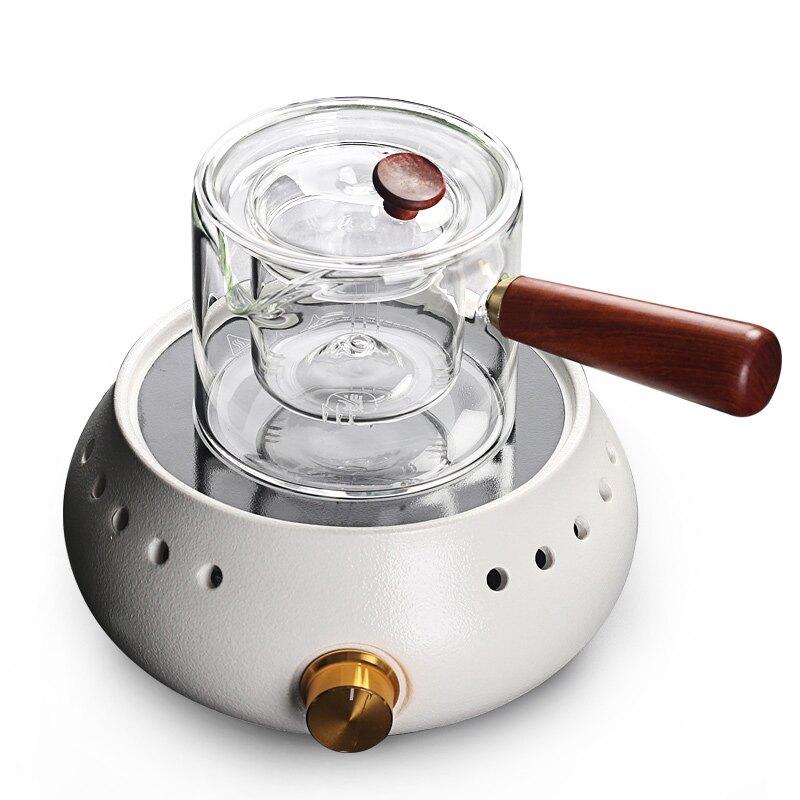 輕奢煮玻璃燒水茶器家用小型電熱茶壺耐高溫加厚過濾蒸養生壺泡茶