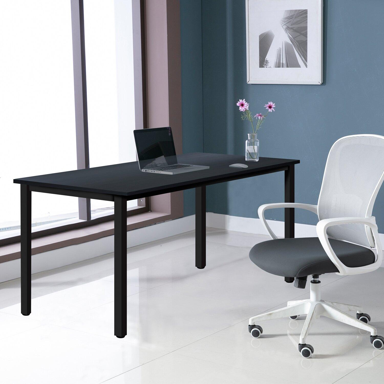 全球生活家-寬140cm簡約環保材質無甲醛多功能桌/電腦桌/餐桌/工作桌/書桌台灣製造TGL-1460(DWT)