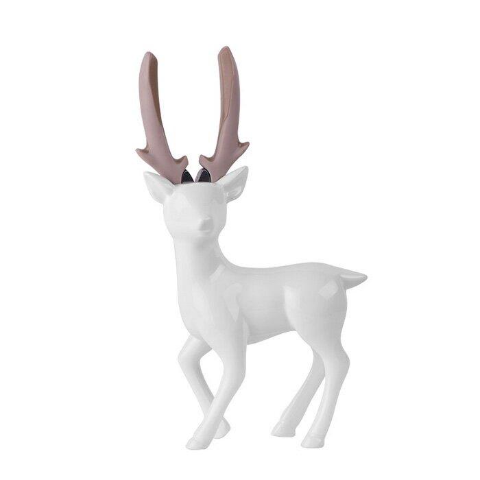 iThinking愛心進_Deer lady 立款-尖嘴鉗_亮白【比漾廣場】