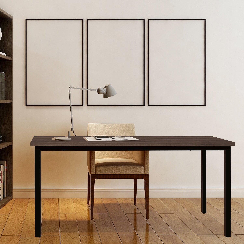 全球生活家-寬140cm簡約環保材質無甲醛多功能桌/電腦桌/餐桌/工作桌/書桌台灣製造TGL-1460(WT)