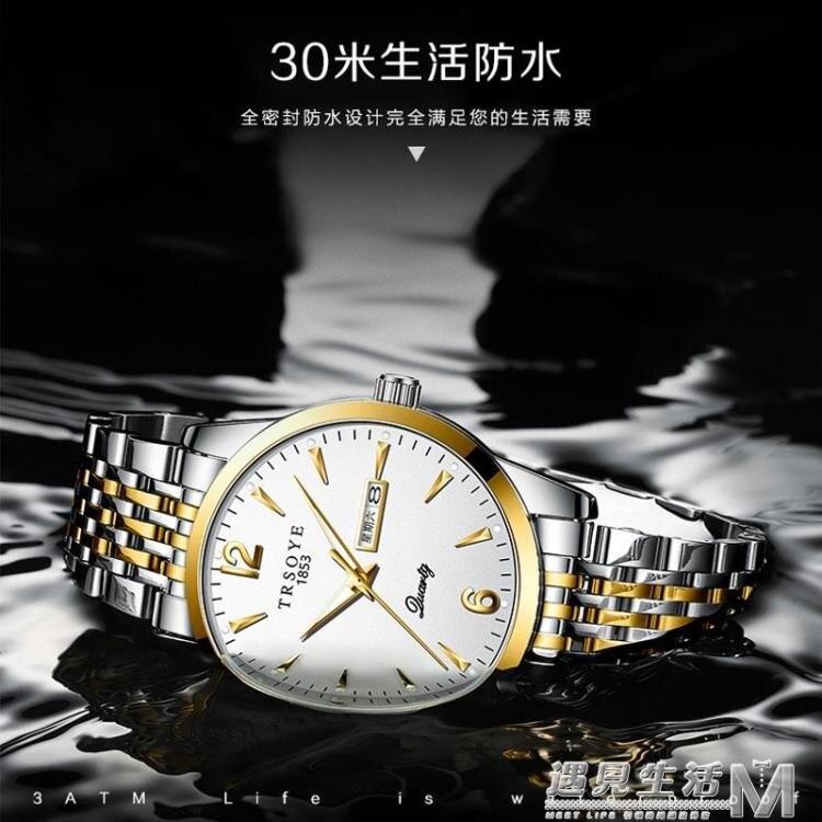 瑞士雙日歷新概念手錶男士機械表全自動霸氣防水夜光國產