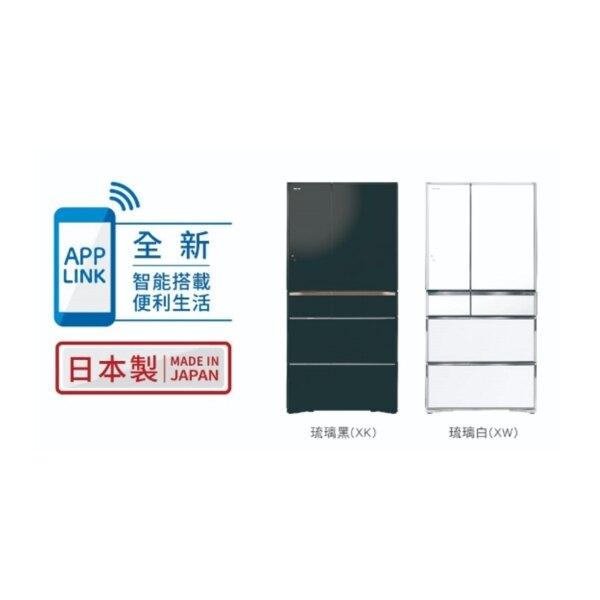 【HITACHI日立 日本原裝】741L變頻六門電冰箱 RZXC740KJ-XW 琉璃白 比漾廣場【比漾廣場】
