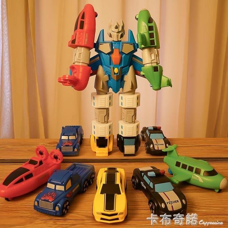 變形玩具恐龍機甲兒童2-3-6歲金剛機器人手辦模型玩具男孩禮物