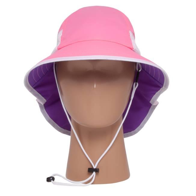 Sunday Afternoons\t兒童 抗UV防潑透氣護頸帽 紫紅 Kids Play Hat\tSAS2D01061B-320\t Z1325\t【Happy Outdoor 花蓮遊遍天下】