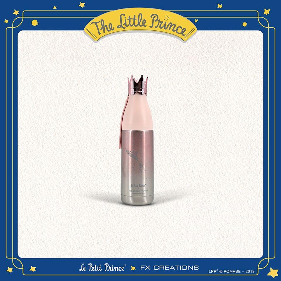 【小王子Le Petit Prince聯名款】皇冠系列350ML保溫杯#櫻花粉 FXG186LP-48
