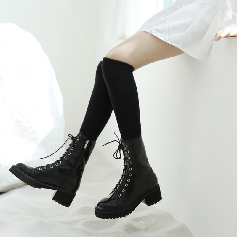 韓國空運 - Canet enamel walker 靴子